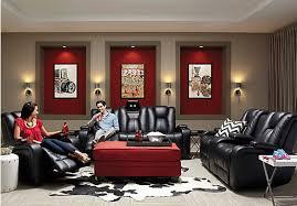 Living Room Reclining Sofas Kingvale Black 2 Pc Power Reclining Living Room Living Room Sets