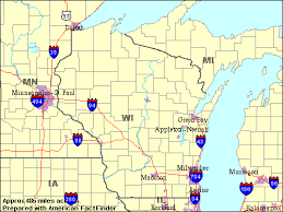 wisconsin map usa about the usa travel the states territories