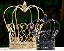 Royal Crown Centerpieces by Gold Crown Centerpiece Etsy