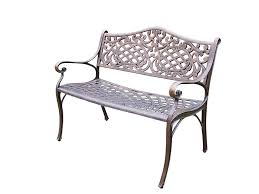 Antique Outdoor Benches For Sale by Amazon Com Oakland Living Mississippi Cast Aluminum Settee Bench