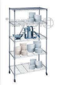 Wire Rack Shelf Kitchen Wire Rack Shelving Affordable Metal Chrome Restaurant