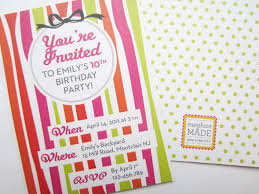 personalized birthday invitations tags customized birthday