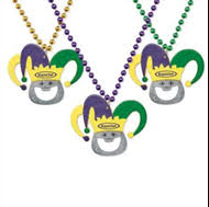 personalized mardi gras promotional custom printed logo