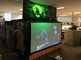 the hill nightmare before christmas office decorations pinterest