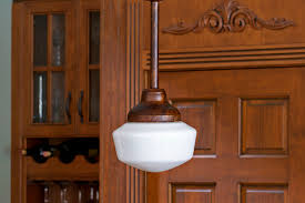 Beautiful Lighting Mahogany Brass Schoolhouse Lights Barn Light Electric