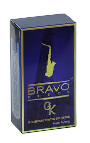 amazon com bravo synthetic reeds for alto saxophone strength