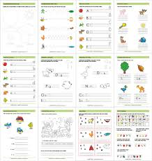 Writing The Alphabet Worksheets Printable Workbooks Fun And Learn Activities For Kids
