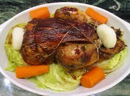 comment cuisiner un faisan au four faisan aux chou et carottes