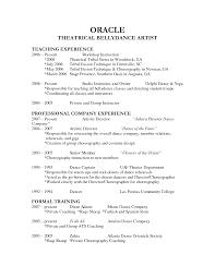teacher cover letter and resume dance teacher resume dancing job description example sample free dance resume example example resume and resume objective examples dance teacher resume