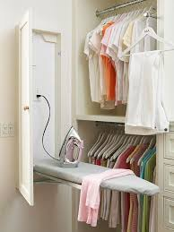 ironing board closet cabinet ironing board cabinet essentials and styling
