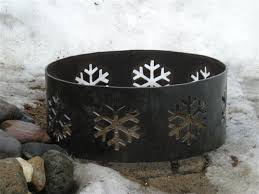 Large Fire Pit Ring by Alpine Metal Art Products