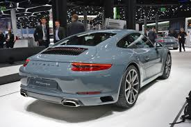 fashion grey porsche turbo s 2018 porsche 911 turbo s automotive news 2018