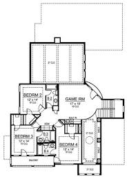 Bellagio Floor Plan Bellagio 4839 4 Bedrooms And 5 5 Baths The House Designers