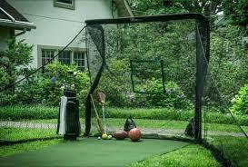 Golf Net For Backyard by The Net Return Home Series Golf Net U0026 Mat Package