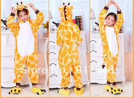 animal giraffe onesies for children onesie pajamas