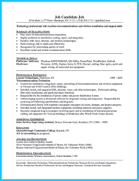 Electrical Technician Resume How To Make Cable Technician Resume That Is Really Perfect