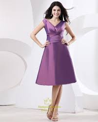 purple dresses for weddings knee length purple taffeta prom dress purple dresses with sleeves purple