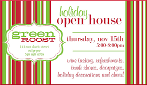 open house invitations christmas open house invitations template best template collection