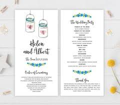 cheap printed wedding programs 12 best wedding programs images on wedding printable