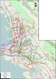 Cable Car San Francisco Map by San Francisco 1932