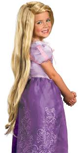 Kitty Halloween Costume Kids Tangled Rapunzel Wig Child Costumes Au