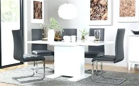 Glass Extendable Dining Table And 6 Chairs Extendable Dining Table With 6 Chairs Glass Extendable Dining
