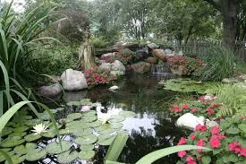 Aquascape Water Features Fall A Good Time To Pump Up The Yard With Water Features