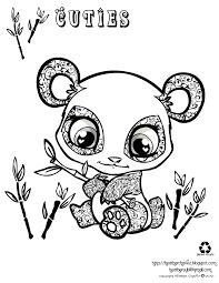 cartoon panda coloring pages 4 arterey info