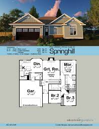traditional 2 story house plans springhill cathedral ceilings traditional house and pantry