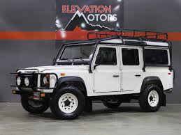 land rover defender 110 convertible land rover defender 110 for sale cargurus