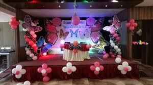 beautiful butterfly theme decoration birthday custom theme