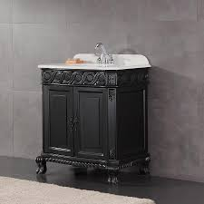 Bathroom Vanities At Lowes Shop Ove Decors Trent Antique Black Undermount Single Sink