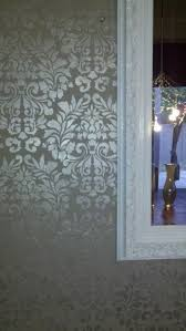 23 best stenciled wall goodness images on pinterest wallpaper