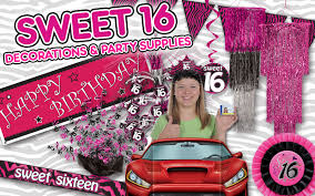 sweet 16 party decorations sweet 16 party ideas partycheap