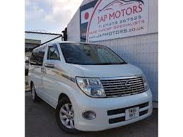 nissan highway star used nissan elgrand mpv in sheffield yorkshire jap motors sheffield