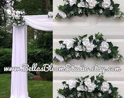 wedding arch greenery wedding arch etsy