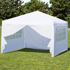 Walmart Bbq Canopy by Best Choice Products 10 U0027 X 10 U0027 Ez Pop Up Canopy Tent Side Walls