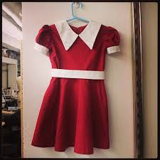 Pitchers Halloween Costumes Custom Orphan Annie Dress Theatrical