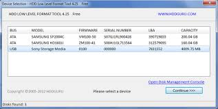 format hard disk tool download hdd low level format tool 4 40