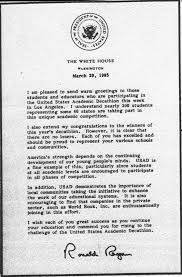 national honor society essay samples letter format to the president of the united states sample file ronald reagan usad letter wikimedia commons