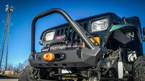 jeep stinger bumper purpose jeep wrangler cj yj tj pyro stubby front bumper flat top stinger