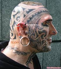 piercings and extreme tattoo on face and head tattoo viewer com