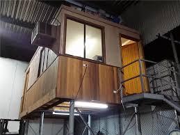 office building timber framed on steel mezzanine floor 6 metre
