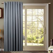 Patio Door Thermal Blackout Curtain Panel Eclipse Thermal Blackout Patio Door Curtain Panel Rods For Sliding