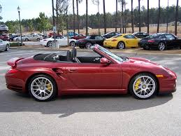 black porsche red interior 2010 porsche 911 turbo cab in ruby red with pdk and paddle shifter