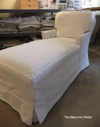 Chaise Cover Chaise Slipcover The Slipcover Maker