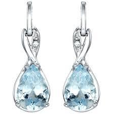 aquamarine drop earrings aquamarine drop earrings white gold gold earrings hoops 14k