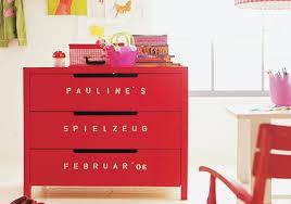 kinderzimmer kommode individuelle schrift auf der kommode bild 2 living at home