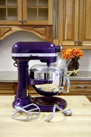 purple canisters for the kitchen kitchenaid pro 600 mixer in plum berry purple