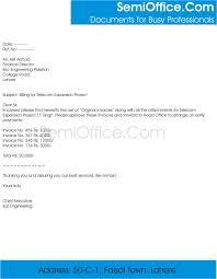 billing cover letter sample for sending bills